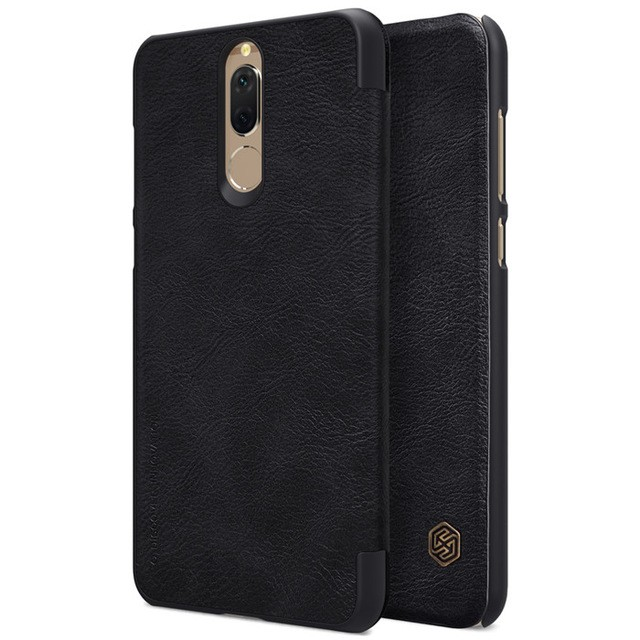 Чехол Nillkin Qin Leather Case для Huawei Nova 2i (Mate 10 Lite/Honor 9i) Black (черный)