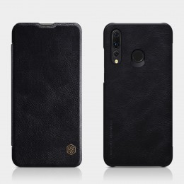 Чехол Nillkin Qin Leather Case для Huawei Nova 4 Black (черный)