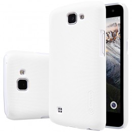 Накладка Nillkin Frosted Shield пластиковая для LG K4 (K130) White (белая)
