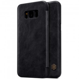 Чехол Nillkin Qin Leather Case для Samsung Galaxy S8 Plus G955 Black (черный)