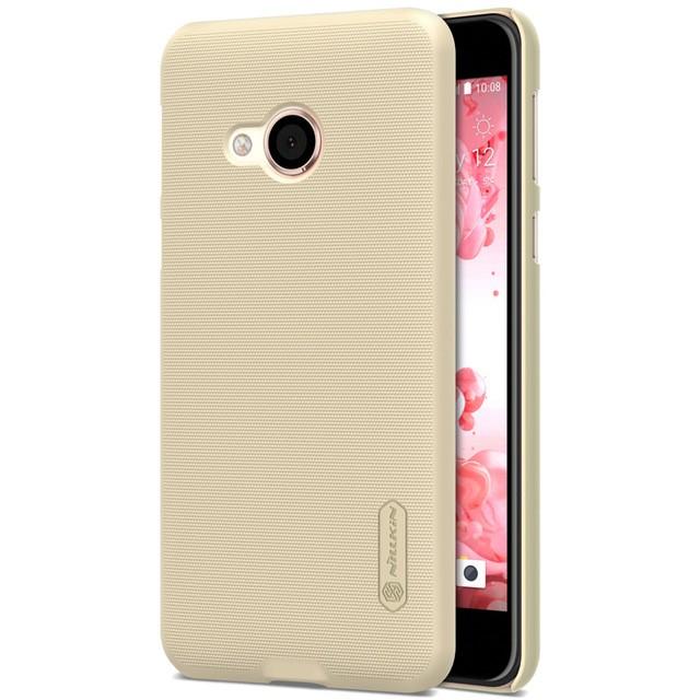 Накладка Nillkin Frosted Shield пластиковая для HTC U Play Gold (золотая)