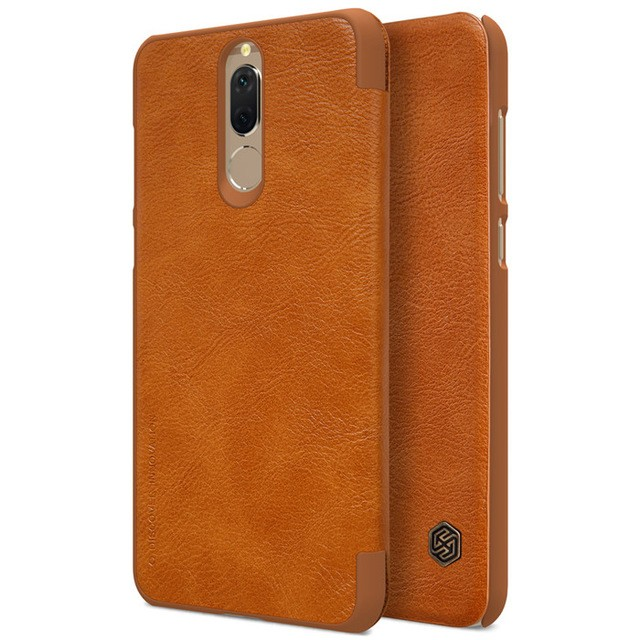 Чехол Nillkin Qin Leather Case для Huawei Nova 2i (Mate 10 Lite/Honor 9i) Brown (коричневый)