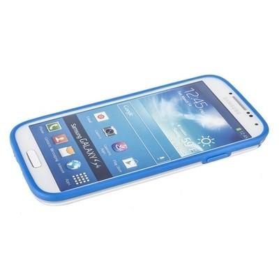 Бампер GRIFFIN для Samsung Galaxy S4 i9500/9505 голубой с прозрачной полосой