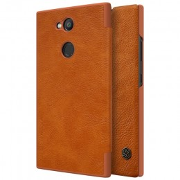 Чехол Nillkin Qin Leather Case для Sony Xperia L2 Brown (коричневый)