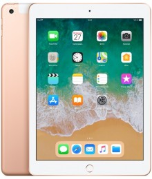 Планшет Apple iPad (2018) 128Gb Wi-Fi + Cellular Gold