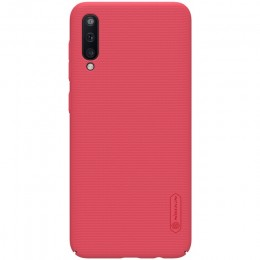 Накладка Nillkin Frosted Shield пластиковая для Samsung Galaxy A50 SM-A505 Red (красная)