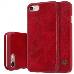 Чехол Nillkin Qin Leather Case для Apple iPhone 7 Red (красный)