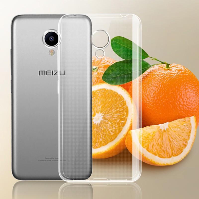 Накладка силиконовая для Meizu M5 Note прозрачная
