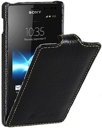 Чехол Melkco для Sony Xperia ion LT28H Black