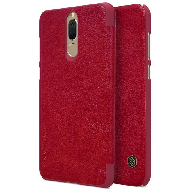 Чехол Nillkin Qin Leather Case для Huawei Nova 2i (Mate 10 Lite/Honor 9i) Red (красный)