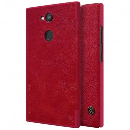 Чехол Nillkin Qin Leather Case для Sony Xperia L2 Red (красный)
