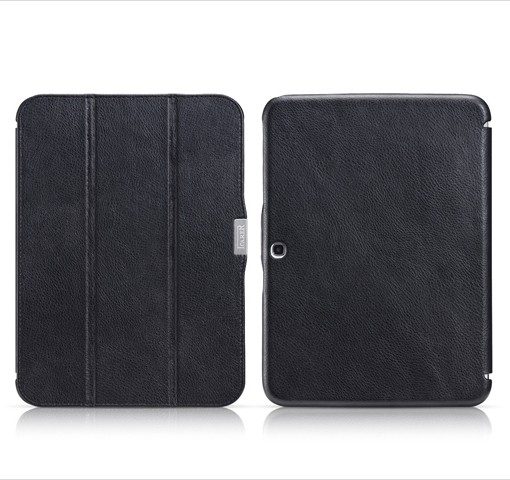 Чехол iCarer Leather Case для Samsung Galaxy Tab 3 10.1 P5200/5210 Black