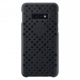 Накладка Samsung Pattern Cover для Samsung Galaxy S10e G970 EF-XG970CBEGRU чёрная/зеленая