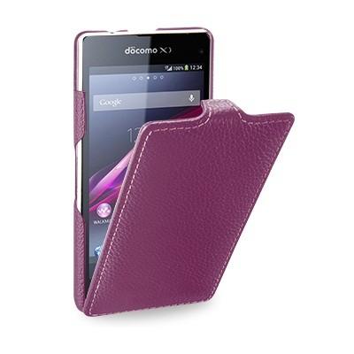 Чехол Melkco для Sony Xperia Z3 фиолетовый