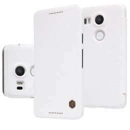 Чехол Nillkin Qin Leather Case для LG Nexus 5X White (белый)