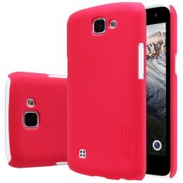 Накладка Nillkin Frosted Shield пластиковая для LG K4 (K130) Red (красная)