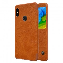 Чехол Nillkin Qin Leather Case для Xiaomi Redmi Note 5 Pro Brown (коричневый)