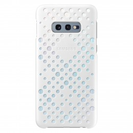 Накладка Samsung Pattern Cover для Samsung Galaxy S10e G970 EF-XG970CWEGRU белая/желтая