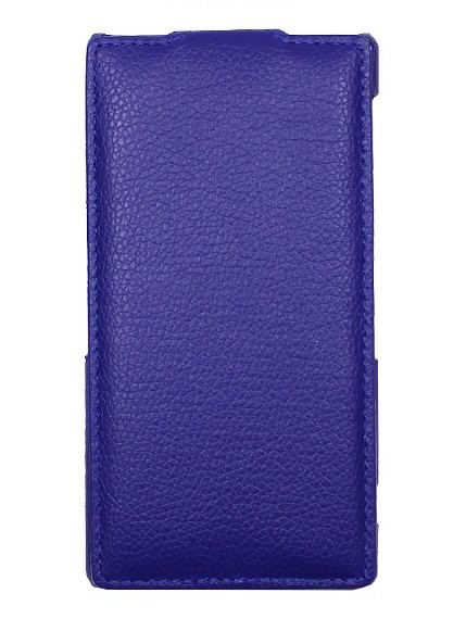 Чехол для Lenovo Sisley S90 синий