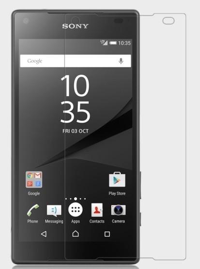 Пленка защитная для Sony Xperia Z5 Compact глянцевая