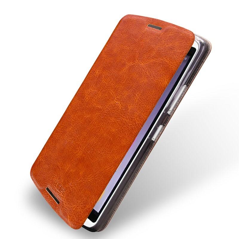 Чехол Mofi для Lenovo Vibe X3 Brown (коричневый)