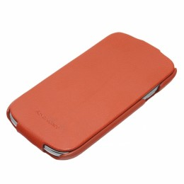 Чехол HOCO Leather Case для Samsung i9300 Galaxy S3 Orange (оранжевый)