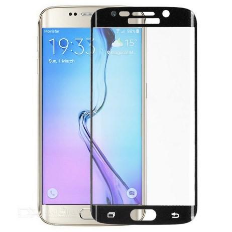 Защитное стекло для Samsung Galaxy S6 Edge G925 черное
