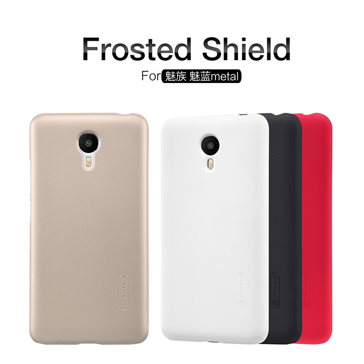 Накладка Nillkin Frosted Shield пластиковая для Meizu Metal белая