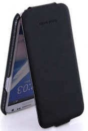 Чехол HOCO Royal Series Duke Leather Case для Samsung Galaxy Note II N7100 Black (черный)