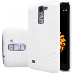 Накладка Nillkin Frosted Shield пластиковая для LG K7 (Tribute 5/X210) White (белая)
