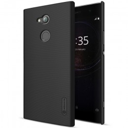 Накладка Nillkin Frosted Shield пластиковая для Sony Xperia XA2 Ultra Black (черная)
