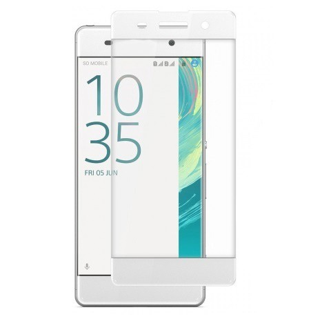 Защитное стекло для Sony Xperia XA Ultra Full Screen белое
