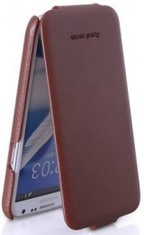 Чехол HOCO Royal Series Duke Leather Case для Samsung Galaxy Note II N7100 Brown (коричневый)
