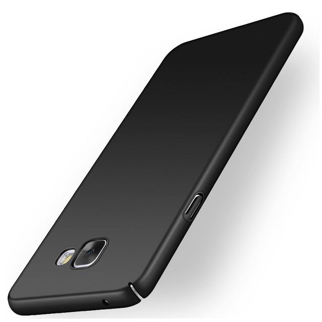 Накладка пластиковая для Samsung Galaxy A3 (2017) A320 черная