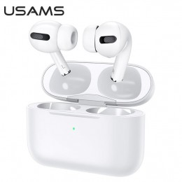 Беспроводная гарнитура Usams US-YM001 Wireless Headphones TWS Earbuds (AirPods Pro) белая