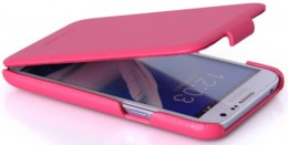 Чехол HOCO Royal Series Duke Leather Case для Samsung Galaxy Note II N7100 Pink (розовый)