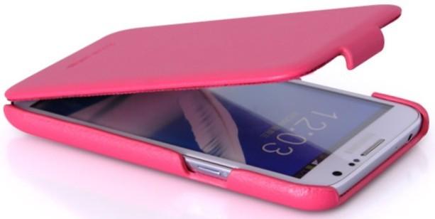 Чехол HOCO Royal Series Duke Leather Case для Samsung Galaxy Note II N7100 Pink (розовый)