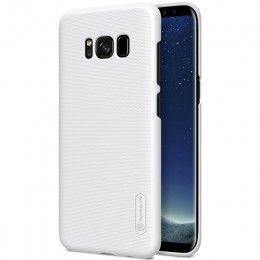 Накладка Nillkin Frosted Shield пластиковая для Samsung Galaxy S8 SM-G950 White (белая)