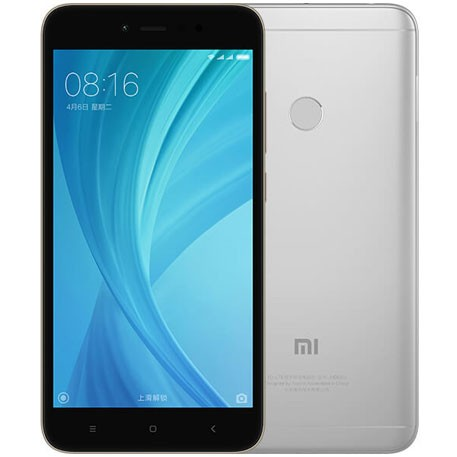 Мобильный телефон Xiaomi Redmi Note 5A Prime 4/64GB Grey/Серебристый