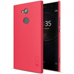 Накладка Nillkin Frosted Shield пластиковая для Sony Xperia XA2 Ultra Red (красная)