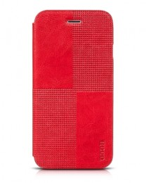 Чехол-книжка HOCO Crystal Series Case для iPhone 6 Plus Red