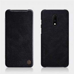 Чехол Nillkin Qin Leather Case для OnePlus 7 Black (черный)