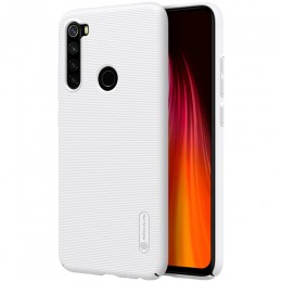 Накладка Nillkin Frosted Shield пластиковая для Xiaomi Redmi Note 8 White (белая)