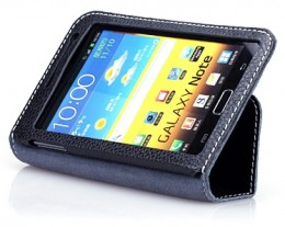 Чехол Yoobao Executive Leather Case for Samsung N7000 Galaxy Note Black