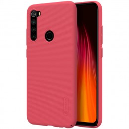 Накладка Nillkin Frosted Shield пластиковая для Xiaomi Redmi Note 8 Red (красная)