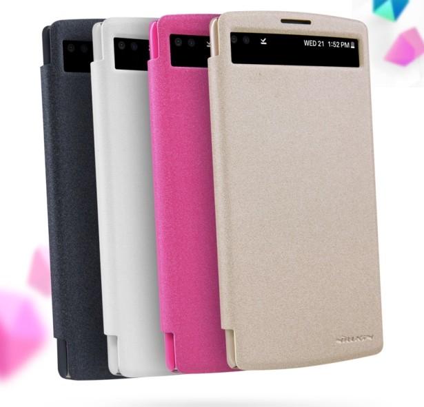 Чехол Nillkin Sparkle для LG V10 H961 розовый