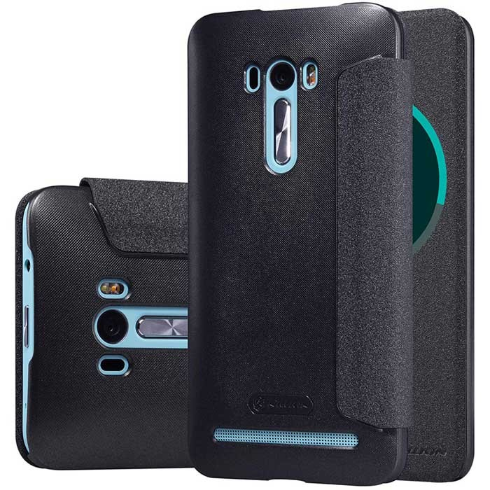 Чехол Nillkin Sparkle Series для Asus Zenfone Selfie ZD551KL Black (черный)