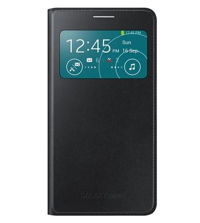 Чехол Flip Cover S-View для Samsung Galaxy Grand 2 SM-G7102 черный