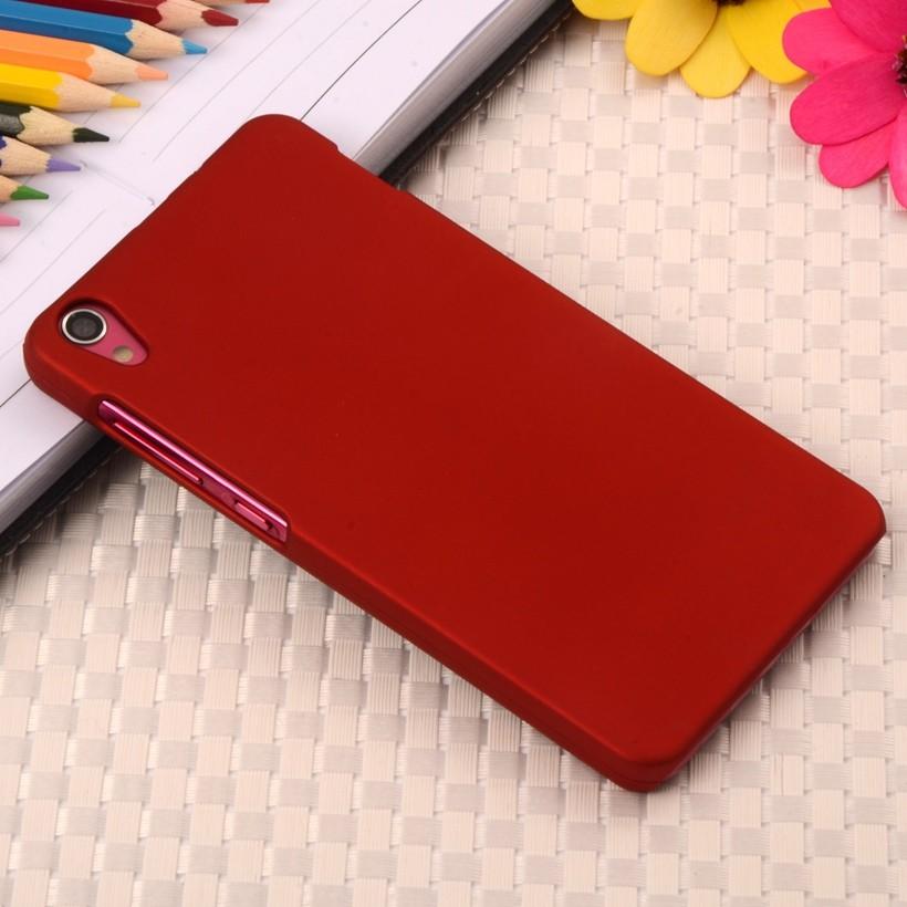 Накладка пластиковая для Lenovo S850 красная