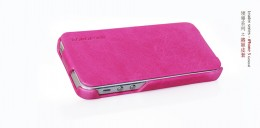 Чехол Borofone General flip Leather case Pink для iPhone 5